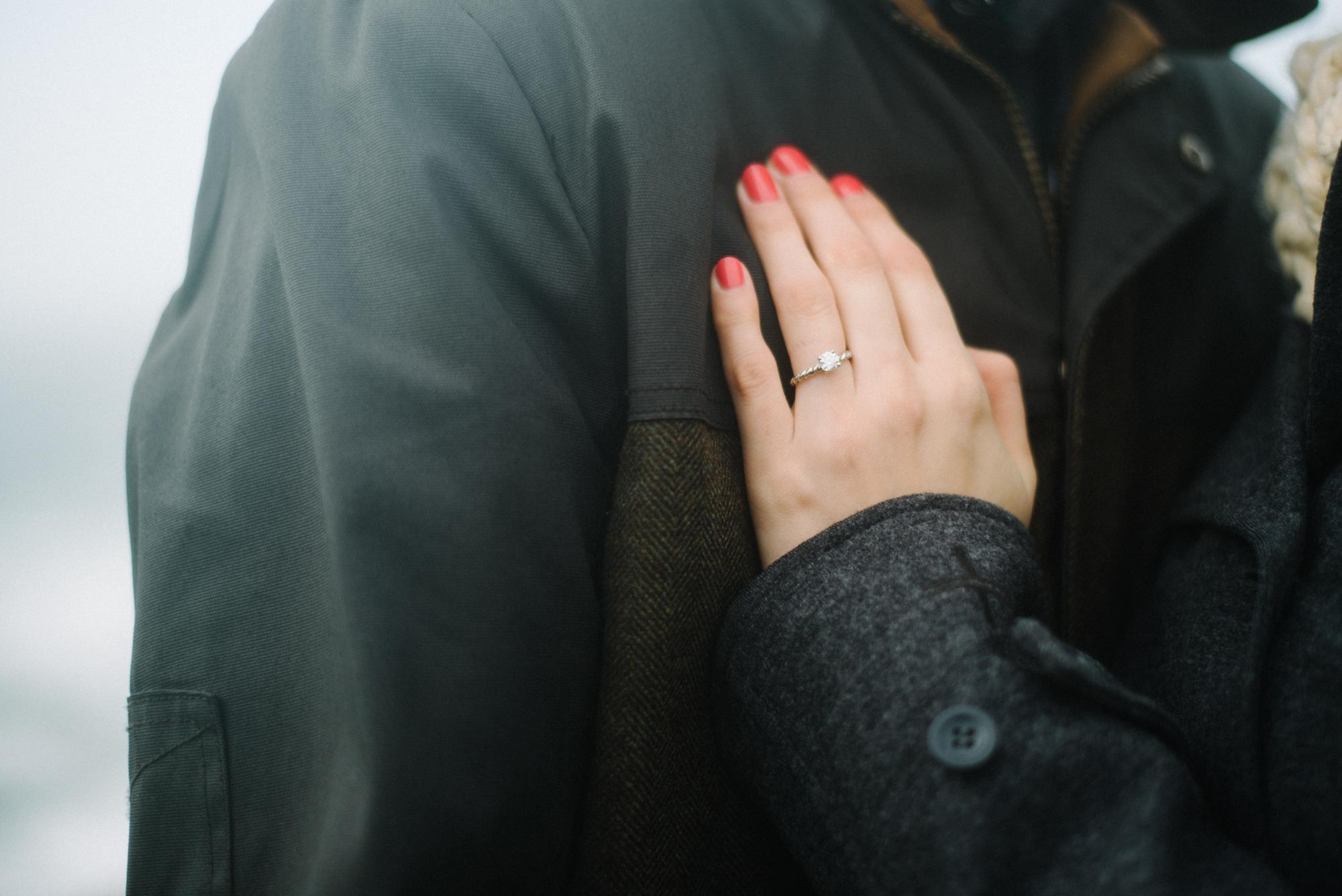 A Kynance Cove Proposal | Jess and David