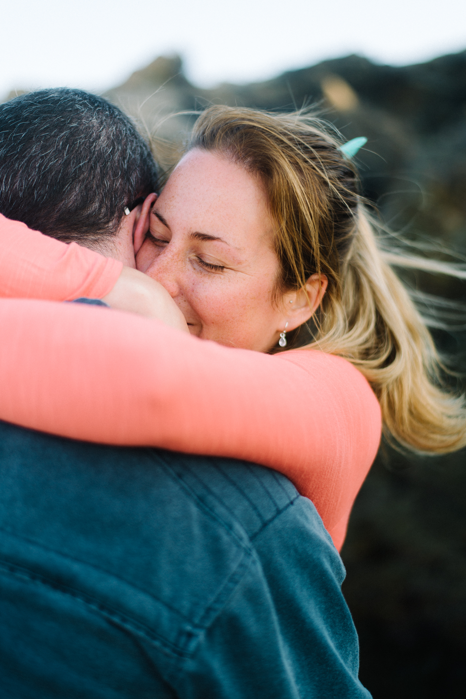 Cassi and Mark, Couple Session in Cornwall by Olivia Bossert