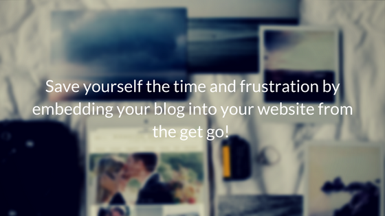 Does Your Creative Business Need A Blog? // www.oliviabossert.com // blogging for business, creative business owners, cornwall photographer, entrapreuneur, solopreneur // Save yourself the time and frustration by embedding your blog into your website from the get go!