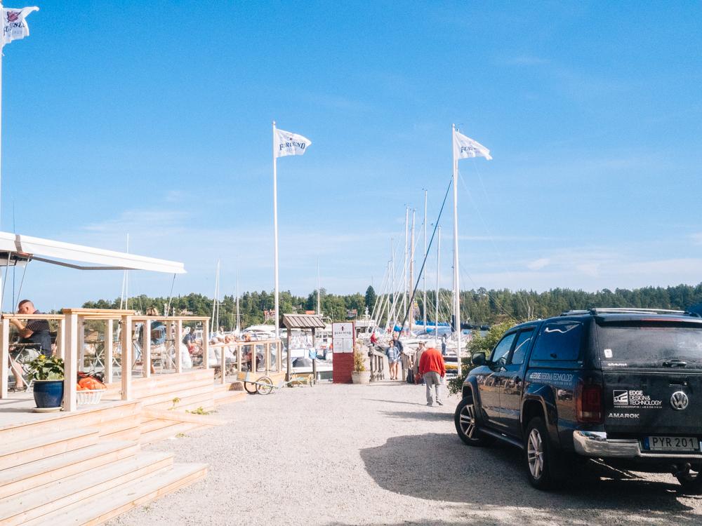 Furusund harbour