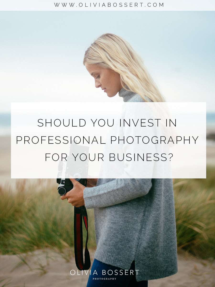 Should you invest in professional photography for your business? // www.oliviabossert.com // professional photographer, cornwall photography, UK photographer, business, entrepreneur, small business