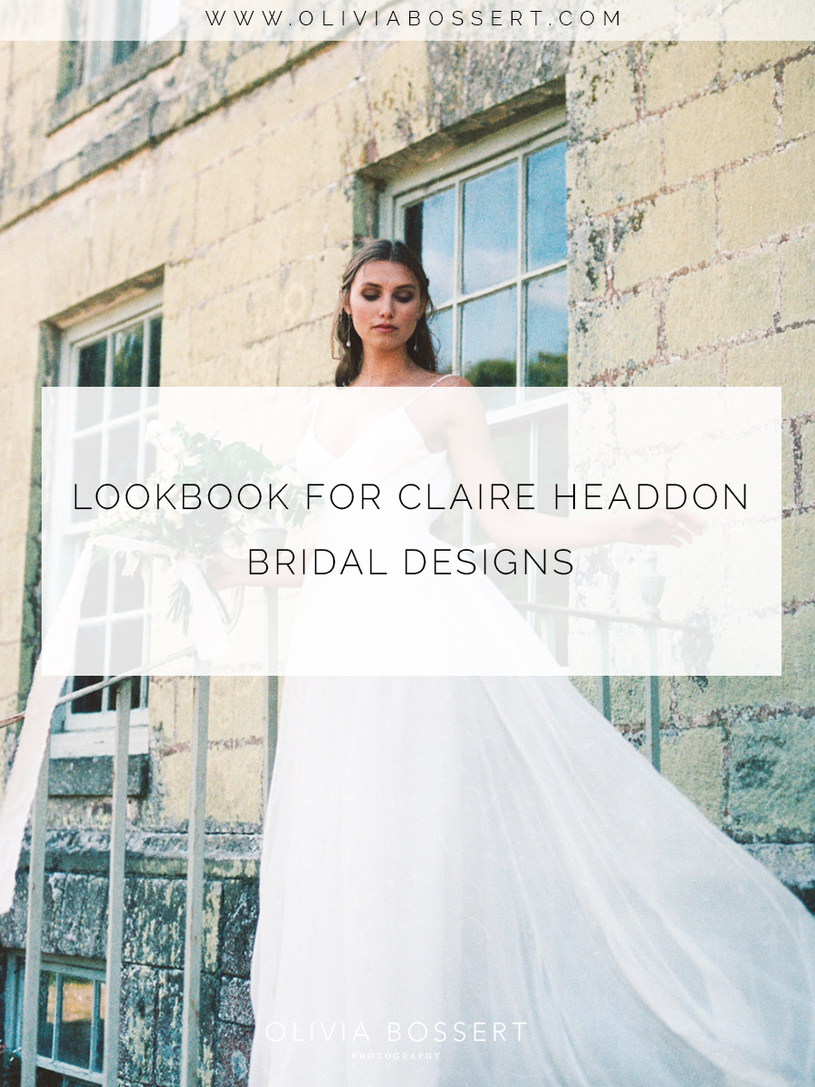 The Organic Editorial | Lookbook for Claire Headdon Bridal Designs