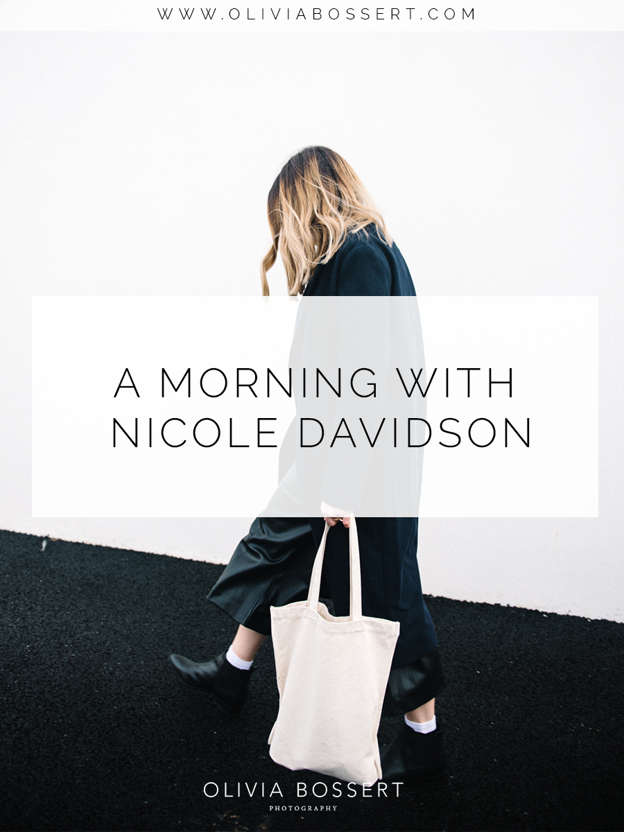 A Morning With Nicole Davidson // www.oliviabossert.com // Cornwall, Fashion blogger, lifestyle blog, fashion photoshoot, blogger photoshoot, cornwall photographer, cornwall blogger photographer, white wall, minimal