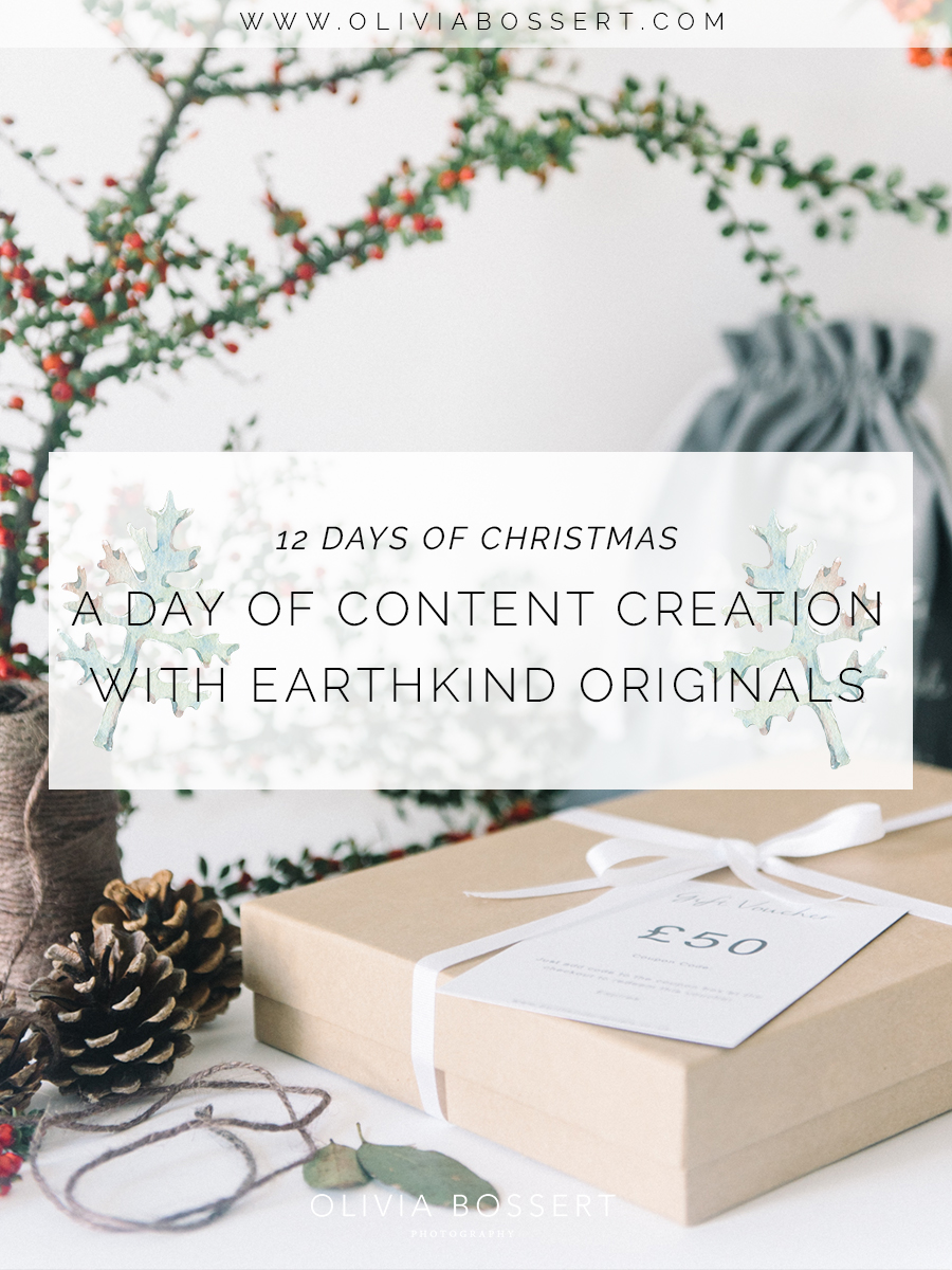 A Day of Content Creation With Earthkind Originals // 12 Days of Christmas // www.oliviabossert.com // EKO Clothing, Cornish Business, EarthKind Originals, St Just, Cornwall, photography, content creation, visual marketing, social media imagery, website imagery, advertising, small business