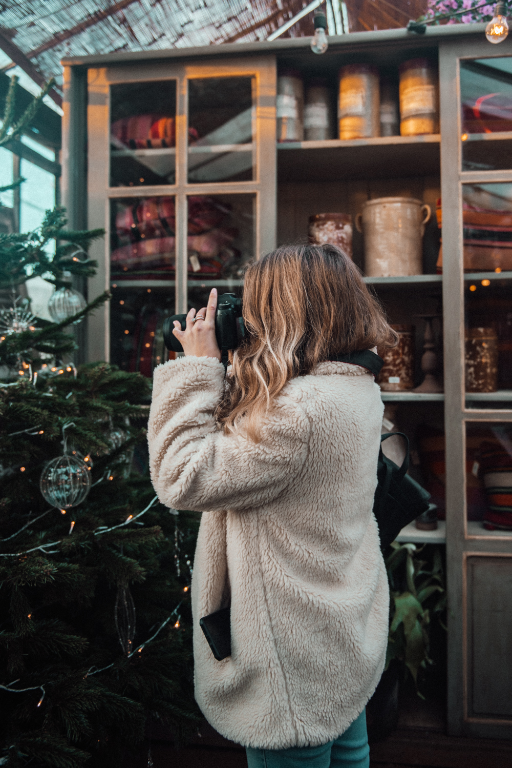 A Winter Visit To London // 12 Days of Christmas // www.oliviabossert.com // london, travel, lifestyle blog, fashion posts, uk bloggers, petersham nursery, bhuti, richmond, autumn