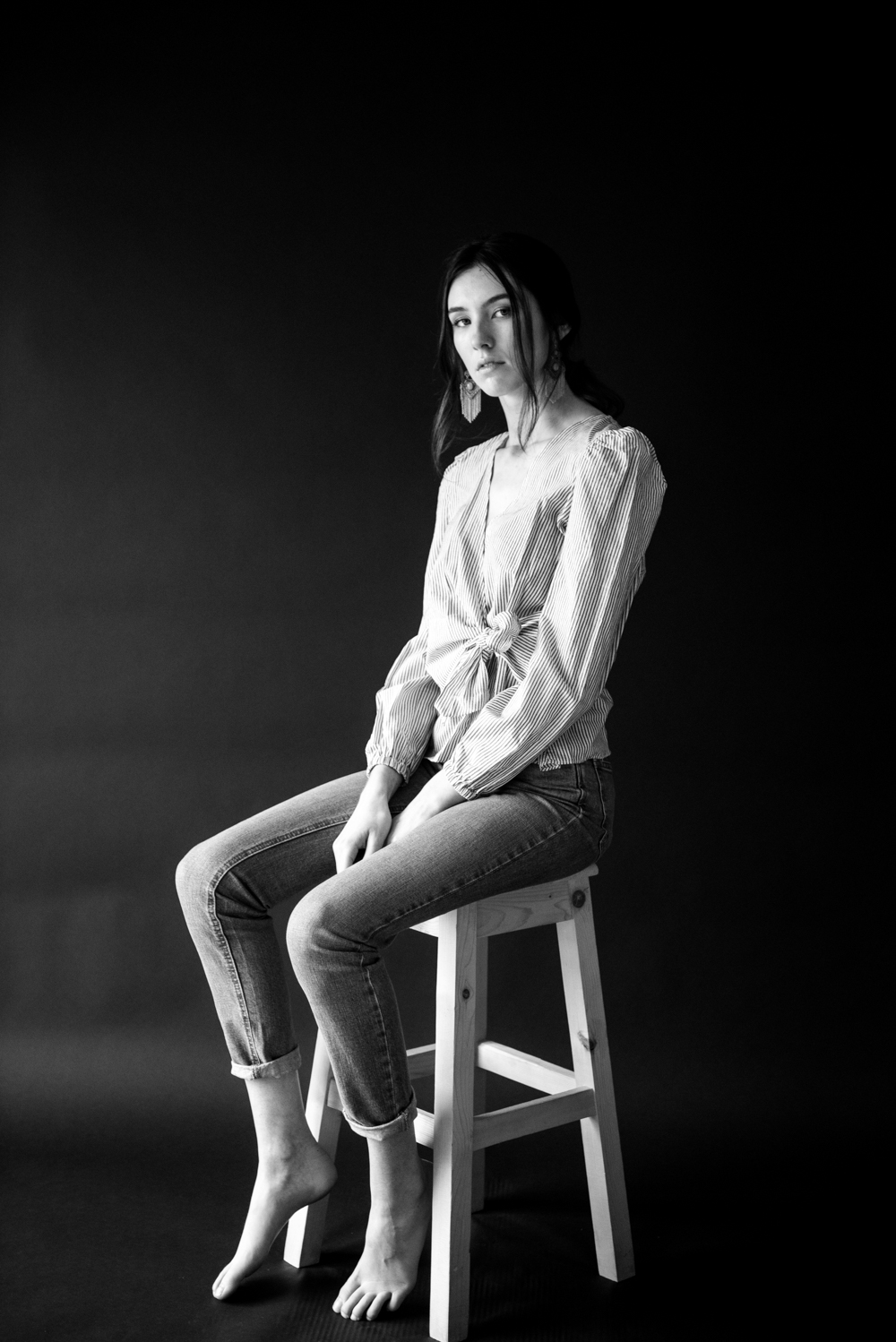 A Studio Shoot with Jessica from D1 Models // www.oliviabossert.com // fashion photography, black and white, fashion, beauty, cornwall, falmouth, bath, london, model agency, new face, editorial, styling, asos, #fashionphotography #fashion #cornwall #editorialphotography #blackandwhite