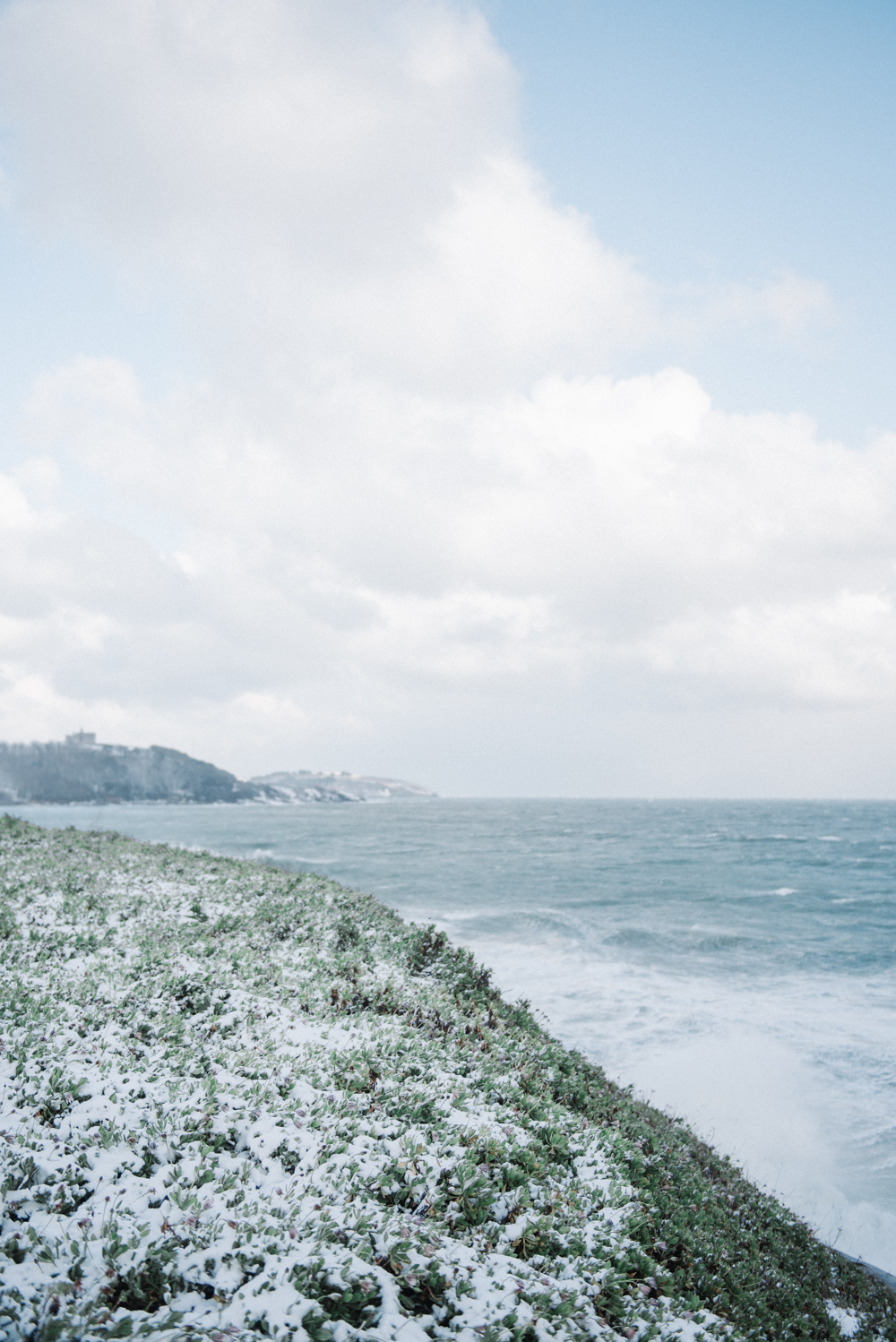 Cornwall In The Snow // www.oliviabossert.com // snow, cornwall, snow 2018, weather, photography of snow, lifestyle photography, landscape photography, united kingdom, falmouth, UK, england