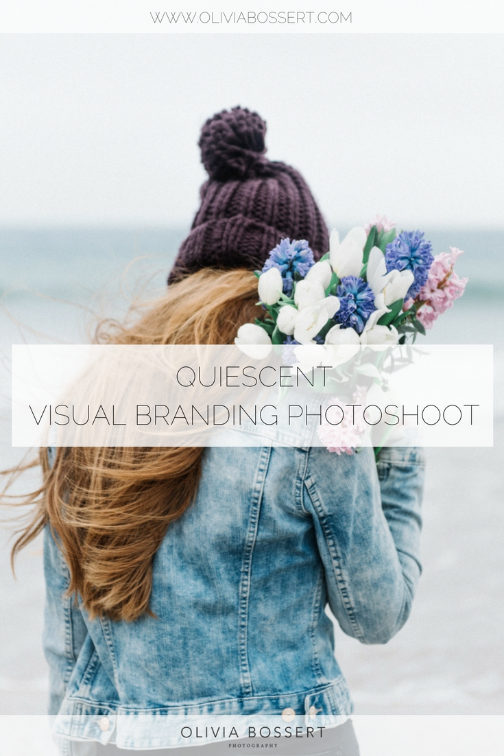 Quiescent // www.oliviabossert.com // lifestyle photoshoot, branding photoshoot, visual marketing, business, small business, sanitary towel, flowers, model, studio, happy, smiling, beautiful, branding
