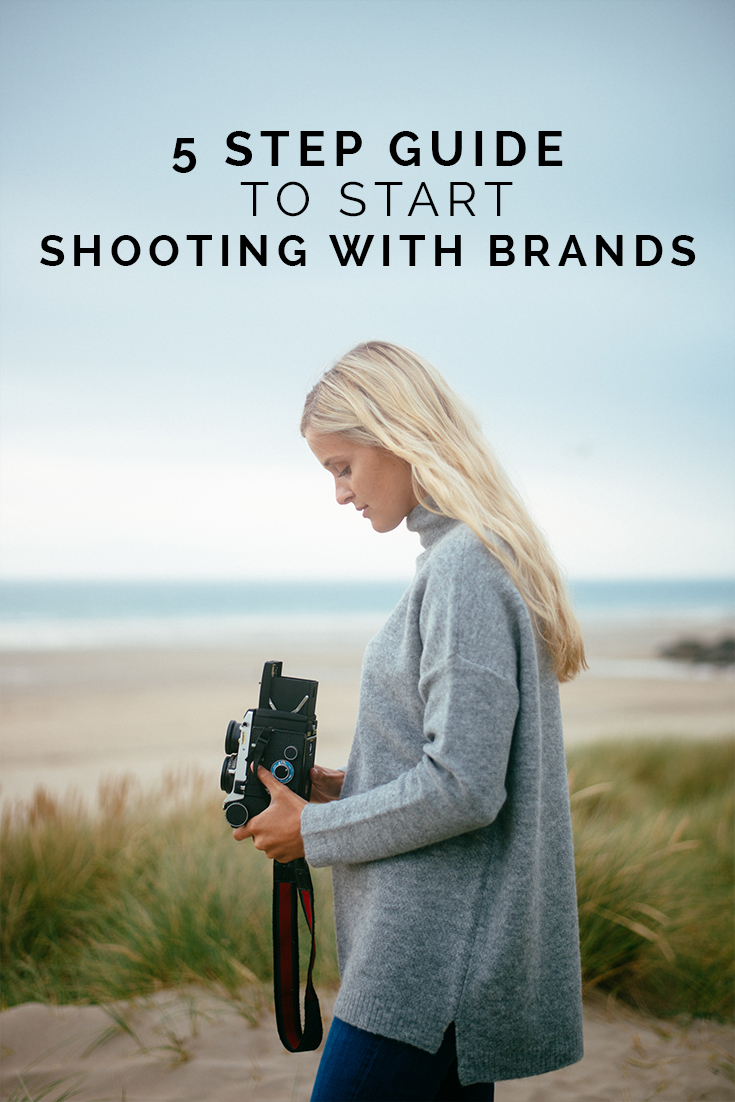5 Step Guide To Start Shooting with Brands // www.oliviabossert.com // content creation, photography tips, photography advice, advice for photographers, brand work, working with brands, being a commercial photographer, commercial photography, social media, marketing,