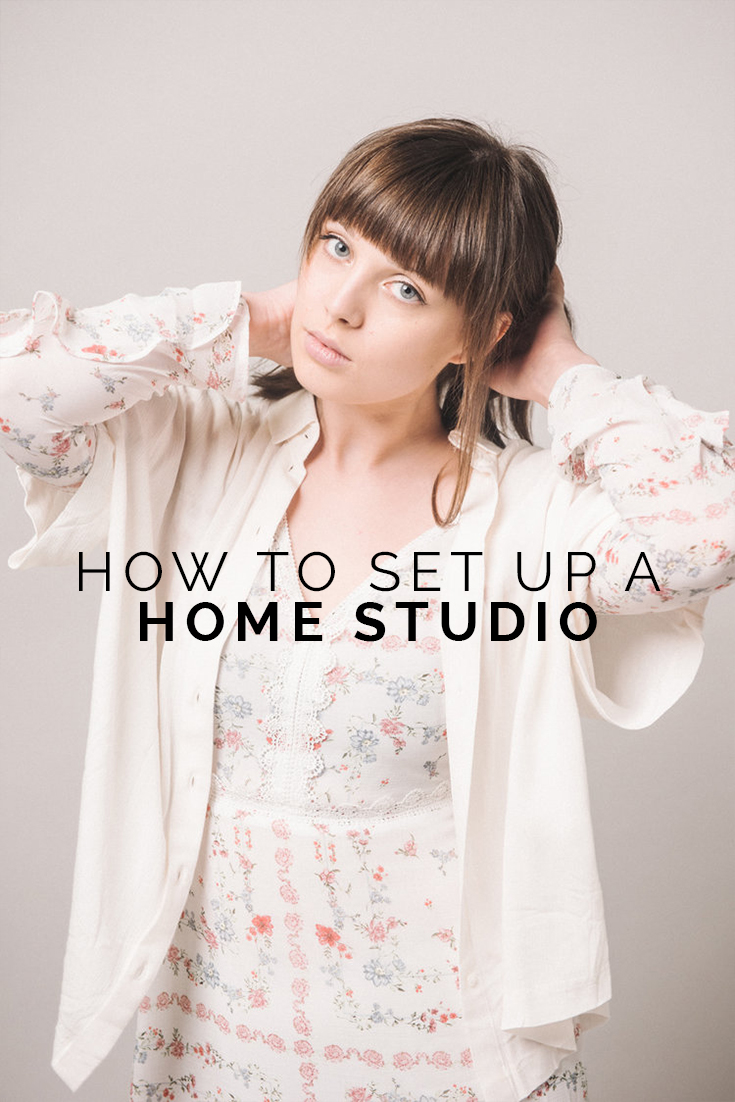 How To Set Up A Home Studio // www.oliviabossert.com // fashion photography tips, fashion photography advice, photography studio, home studio, photographer studio, learn to be a photographer, editorial photography