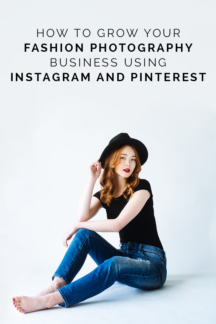 How To Grow Your Fashion Photography Business Using Instagram and Pinterest. // www.oliviabossert.com // fashion photography tips, grow your photography business, business of photography, photography tips, instagram tips, pinterest tips, marketing tips for photographers, marketing, grow your business