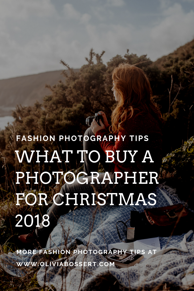 What To Buy A Photographer For Christmas 2018 // www.oliviabossert.com // gift ideas, wish list, christmas present, holiday gifts, photography gifts, gift guide, photography gift guide, gift guide for photographers, technology gifts, techy gifts