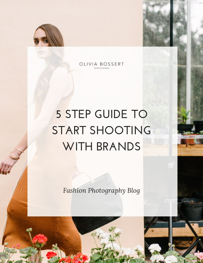 5 Step Guide To Start Shooting with Brands // www.oliviabossert.com // Learn how to start shooting for brands with this simple 5 step process. You can go from never having done a shoot for a brand before, to shooting for a brand in no time. #photographytips #photoshoot #workwithbrands