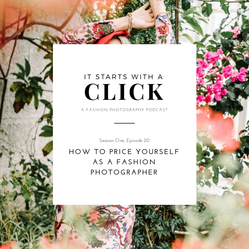 How To Price Yourself As A Fashion Photographer