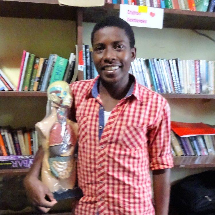Student at Baobab Secondary School on Mainland Tanzania