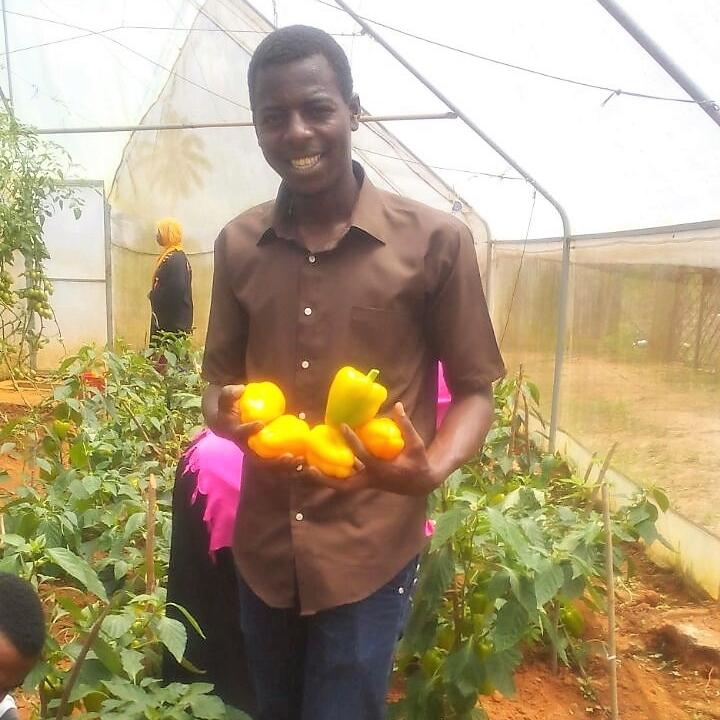 Agriculture Student, Kizimbani Agricultural Training Institute