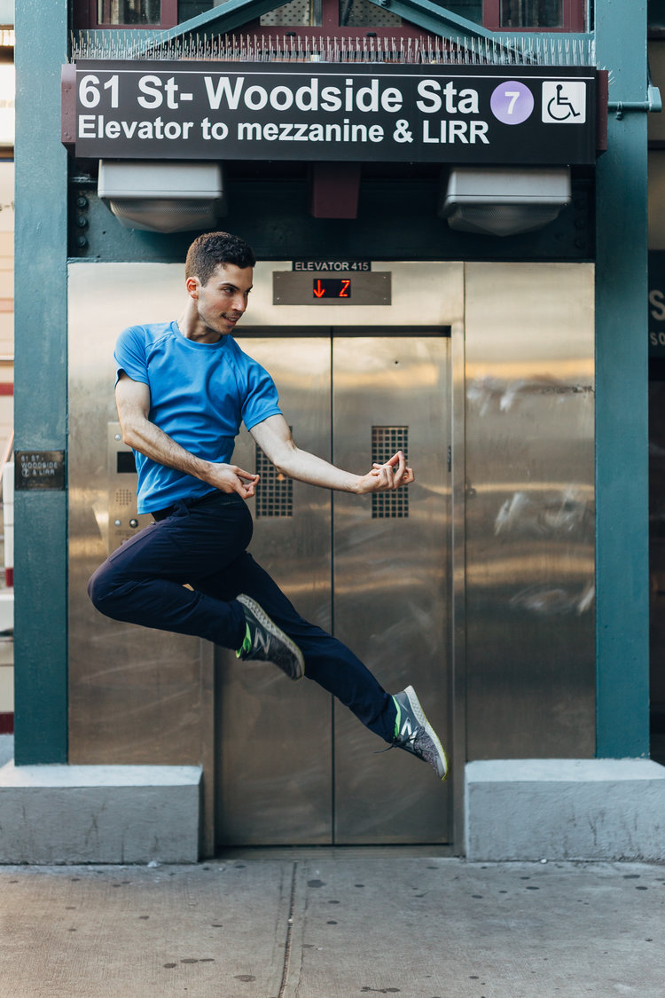 Dancers of New York  Credit: James Jin
