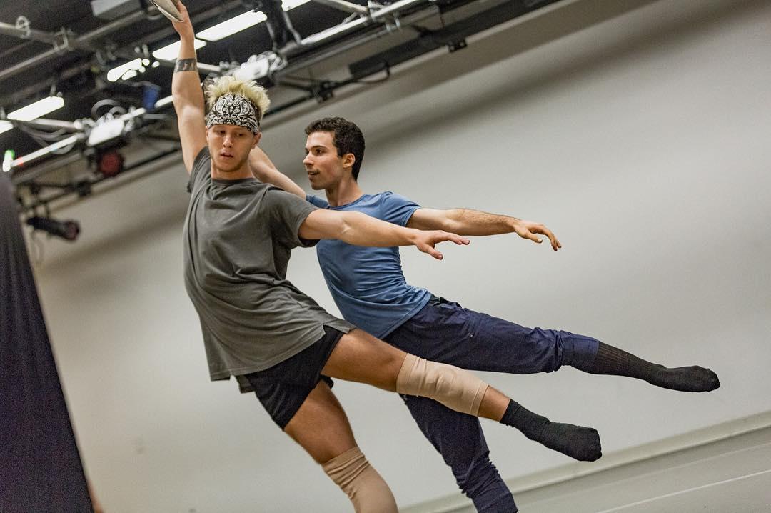 In Rehearsal with Denzel Taylor (Broadway Dance Lab)  Credit: Daniel Robinson