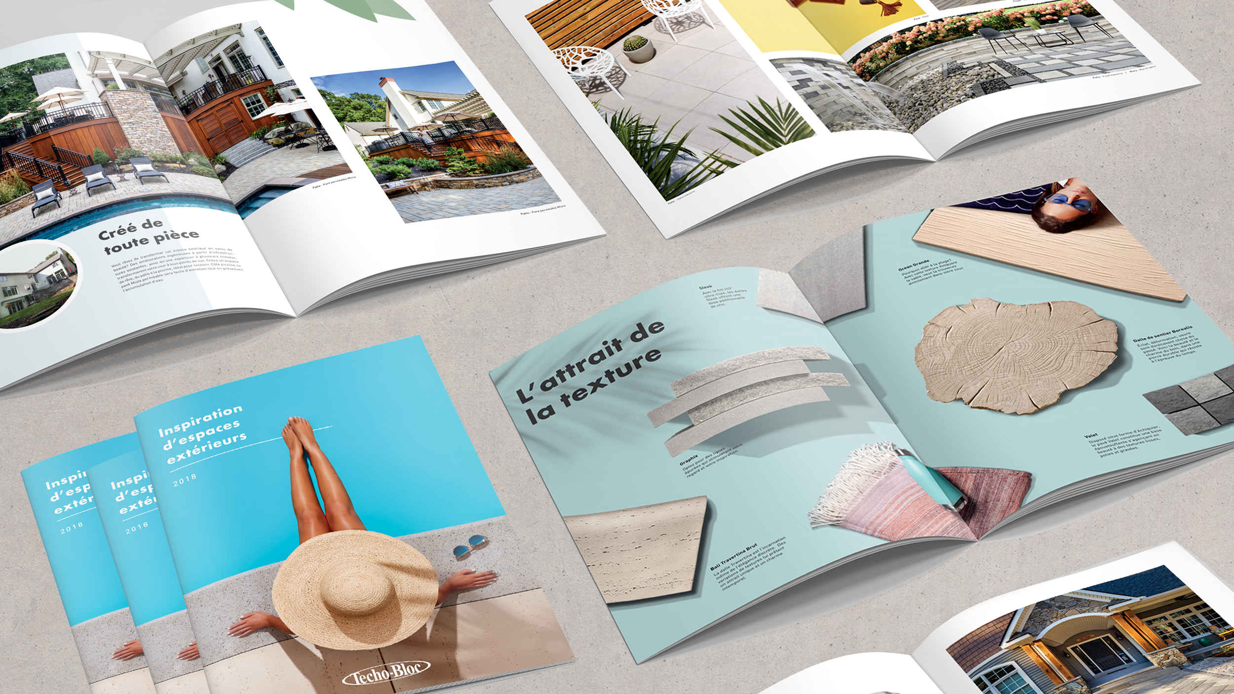 TECHO-BLOC  Brochure aux consommateurs Consumer brochure
