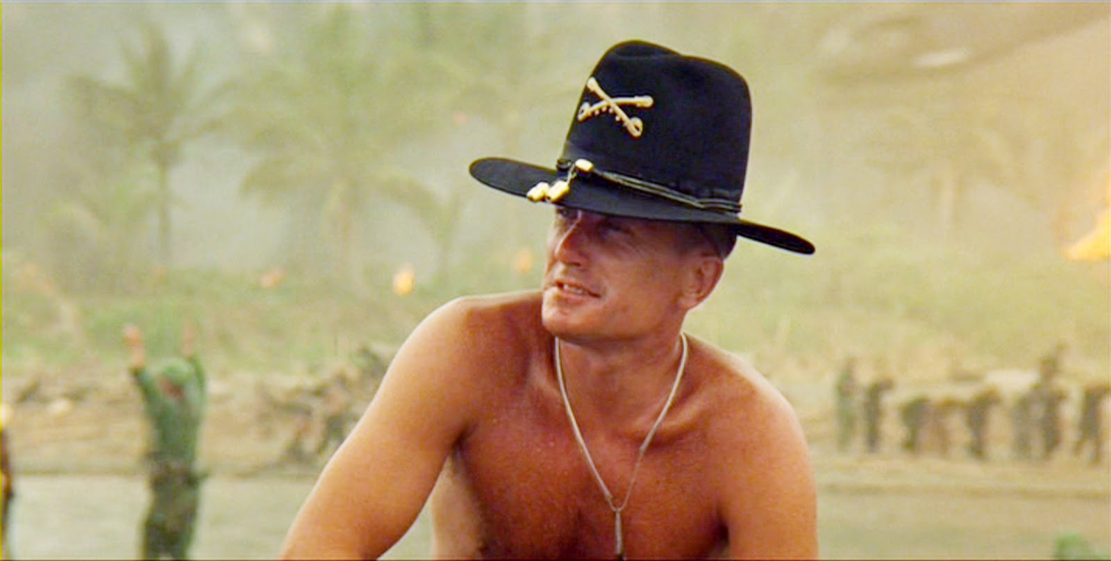 Robert Duvall as Lt. Col Kilgore in Apocalypse Now