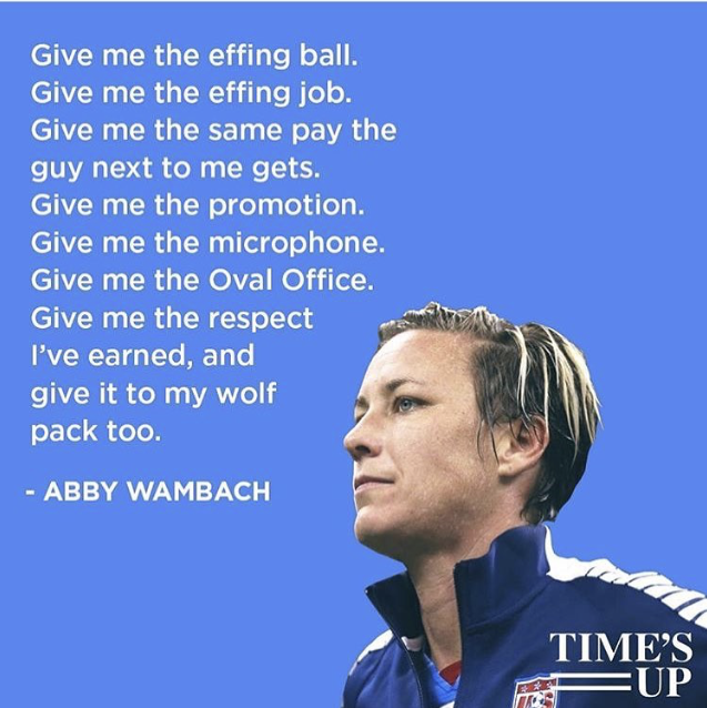 Abby Wambach - Barnard Commencement May 16, 2018