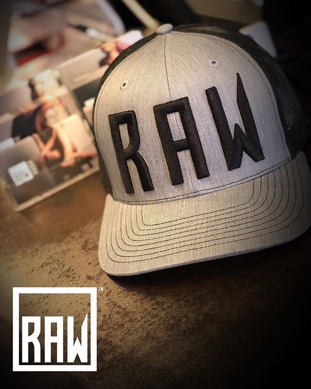 RAW: Apparel. Just got in our first round of RAW Collective hats!  More RAW Collective hats, t-shirts and hoodies on the way!