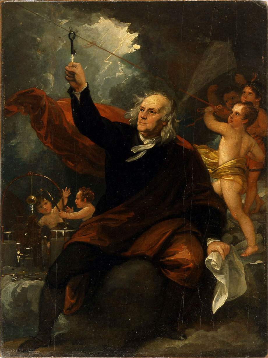 West_-_Benjamin_Franklin_Drawing_Electricity_from_the_Sky_(ca_1816).jpg