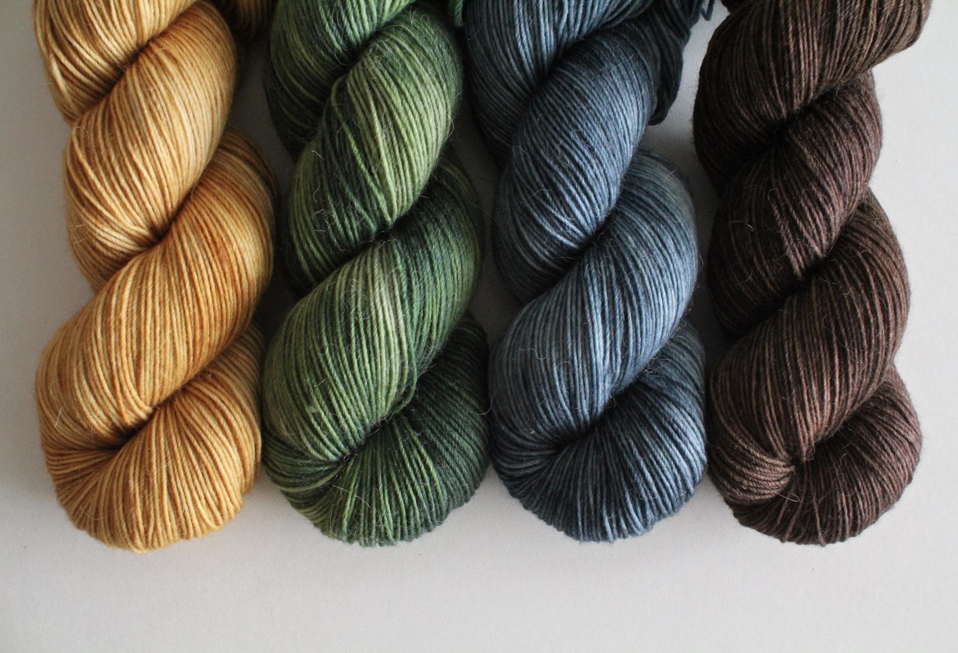 Various tonal colorways