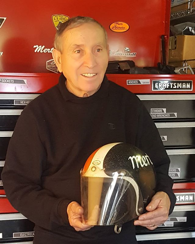 Happy 79th birthday to @mertlawwill7, a true powerhouse influencer of thousands of motorcyclists, including me.  #happybirthday #mertlawwill #onanysunday #rideitlikeyoustoleit #harleydavidson #bellhelmets #flattrackracing