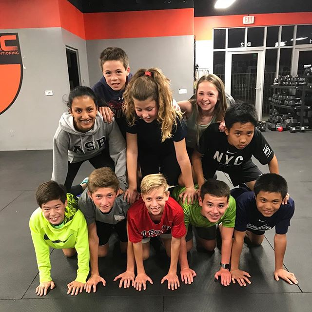 CrossFit kids having fun. #lrsac #laderastrong #laderaranch #sanclemente