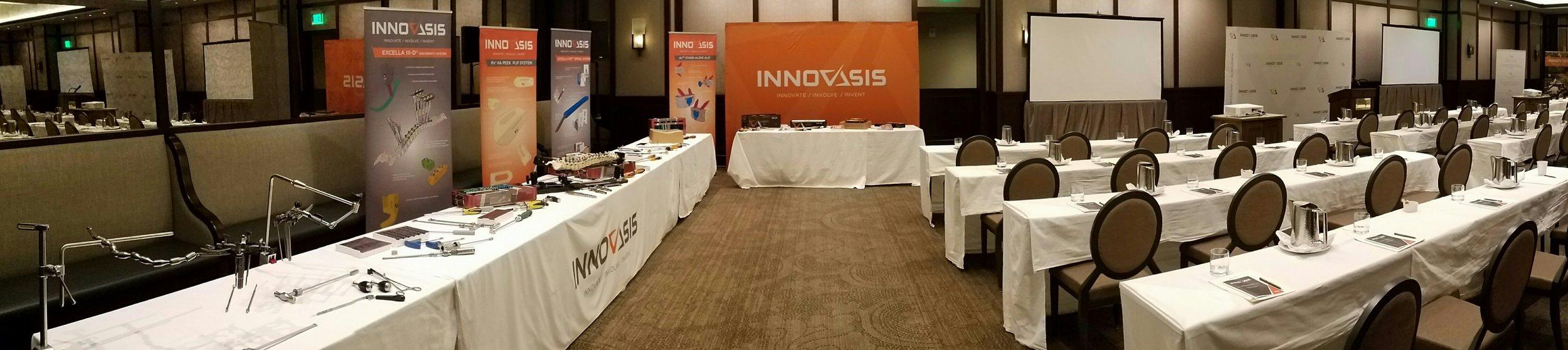 Innovasis meeting space.