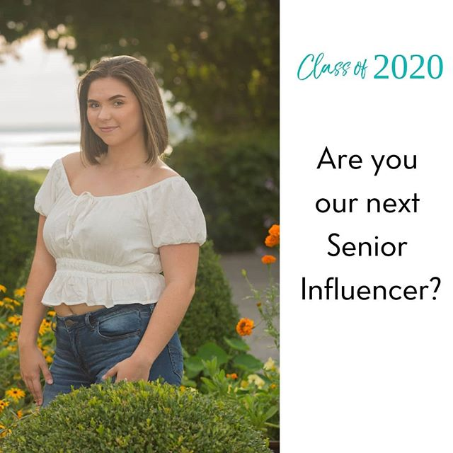 Our Senior Influencer information sessions are in full swing and we couldn't be more excited about what we have for class of 2020 influencers! We have only 5 positions available for this exclusive program.  Applications are still being accepted till January 26th. Link in bio! . . . . .  #seniorportraits #senior #seniorphotographer #Seniors2020