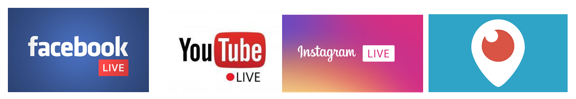 Social networks offer a ready-made broadcast channel for live video