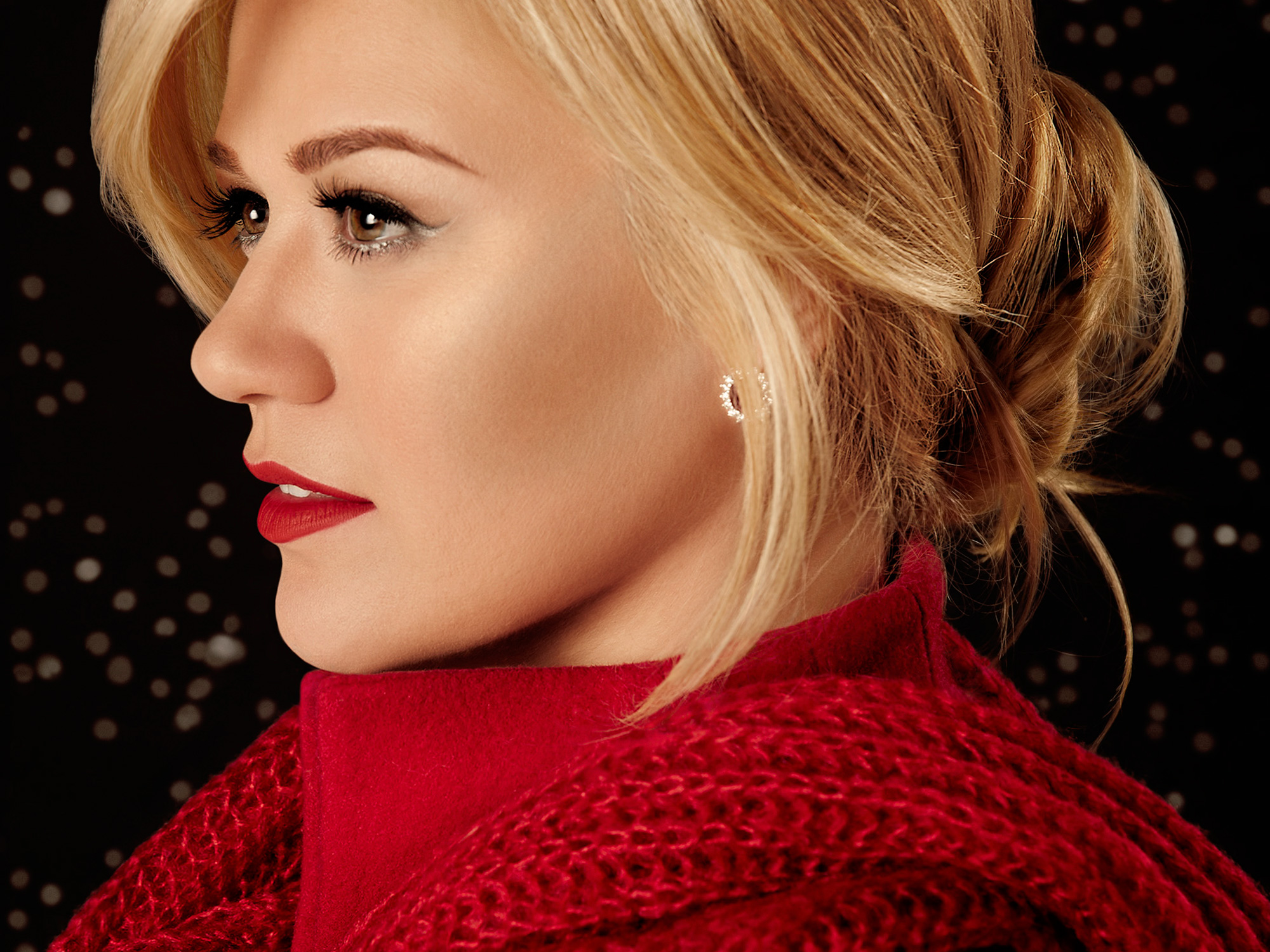 Kelly Clarkson,  Wrapped In Red . Photo Credit:  Jeremy Cowart