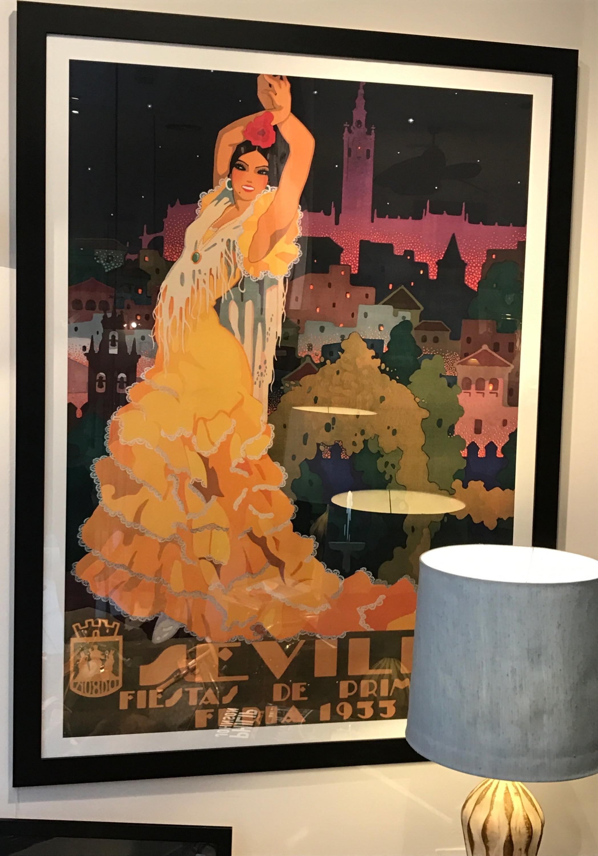XL Spanish Beauty 1933 High Quality Litho