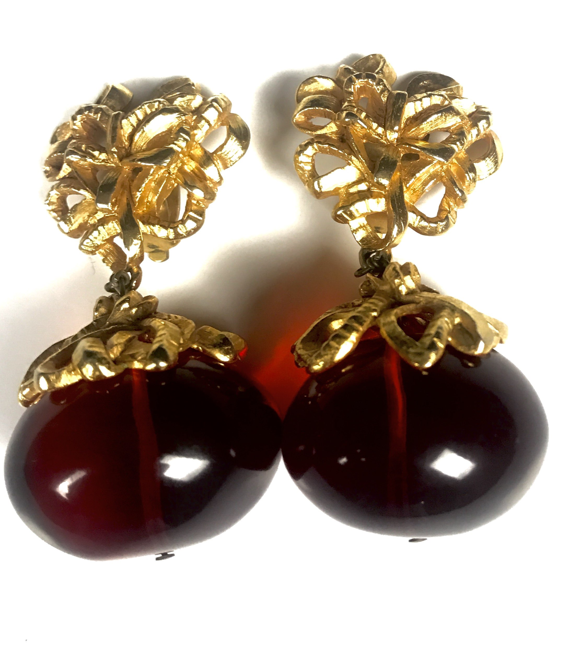 vintage christian lacroix earrings