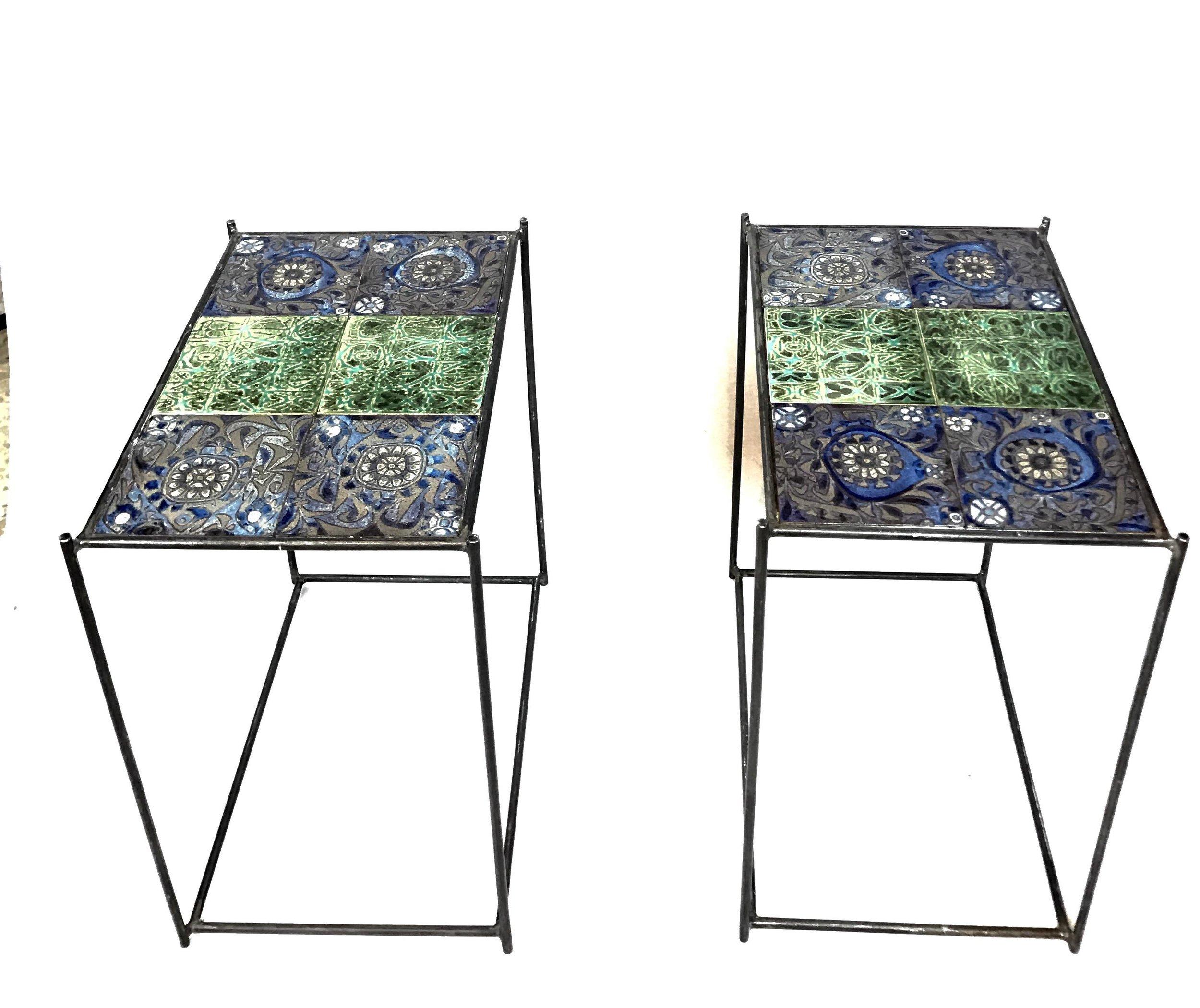 royal copenhagen steel tables