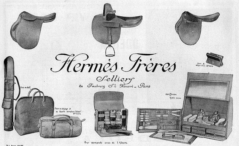 Hermès Advert from 1900