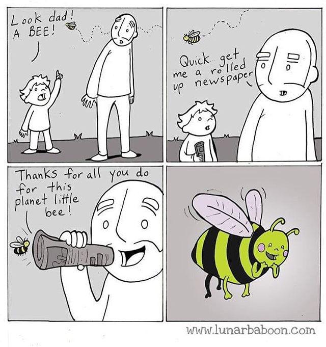 So cute... save the bees! 🐝🐝🐝 #vegan #veganlife #savethebees #bees