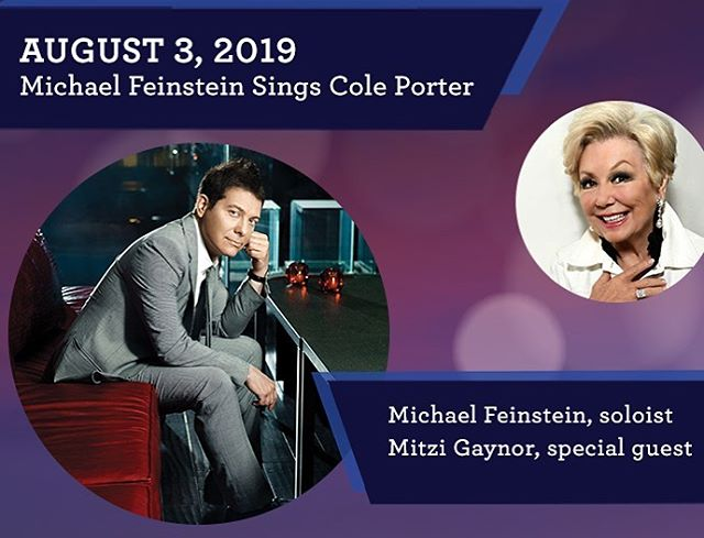 I'm SO EXCITED to share with you all that the LEGENDARY, @themitzigaynor will be joining me as my special guest this Saturday at @passymphpops for our tribute to #ColePorter... this is going to be a once in a lifetime show with stories from a Hollywood legend who knew and worked with Porter. WOW!  Link to tix in bio  #mitzigaynor #southpacific #hollywoodlegend #icon #pasadena