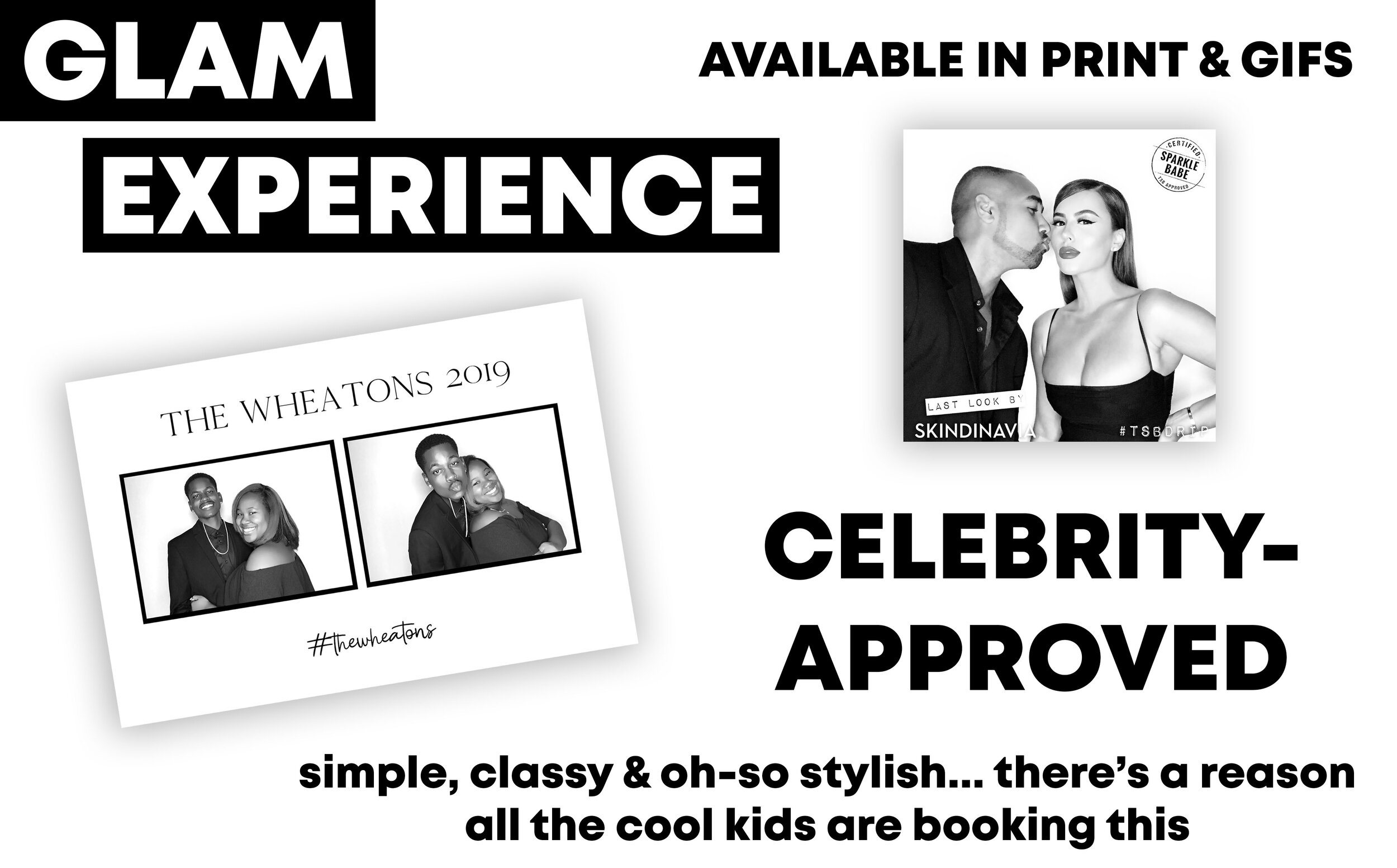 Glam Photo Booth