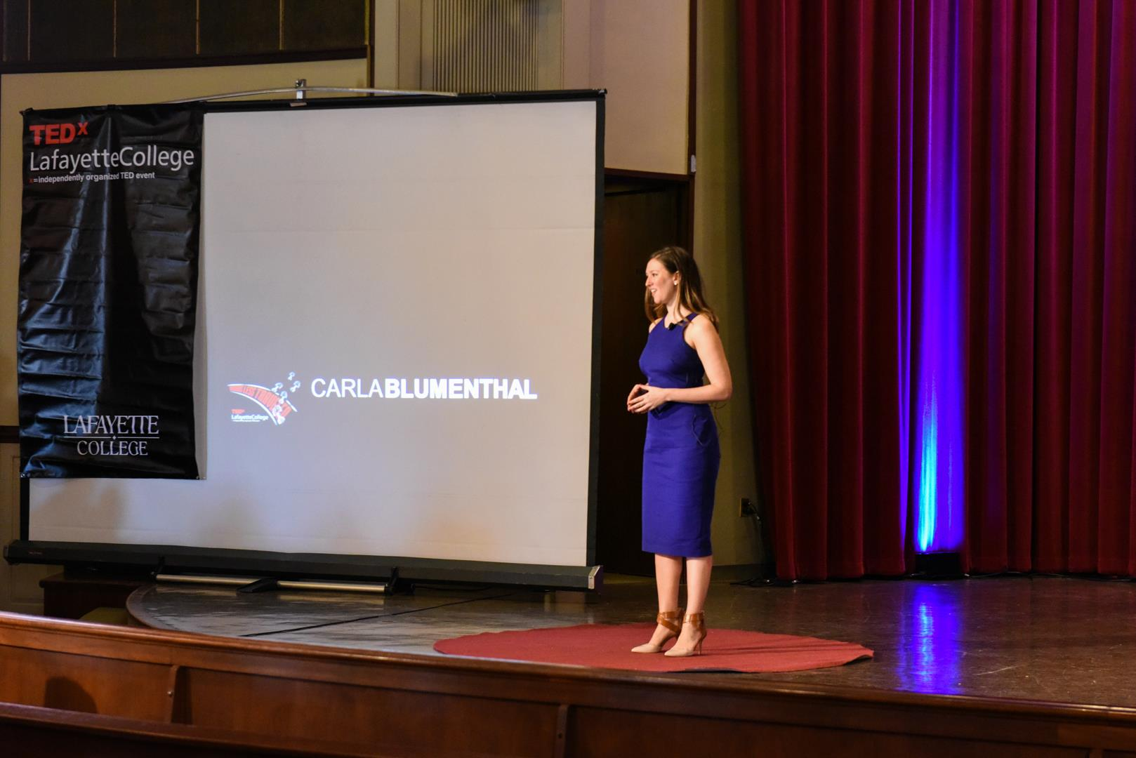 I took to the TEDx stage to share my story of stepping into the unknown, titled     Why There's Freedom in Discomfort   .