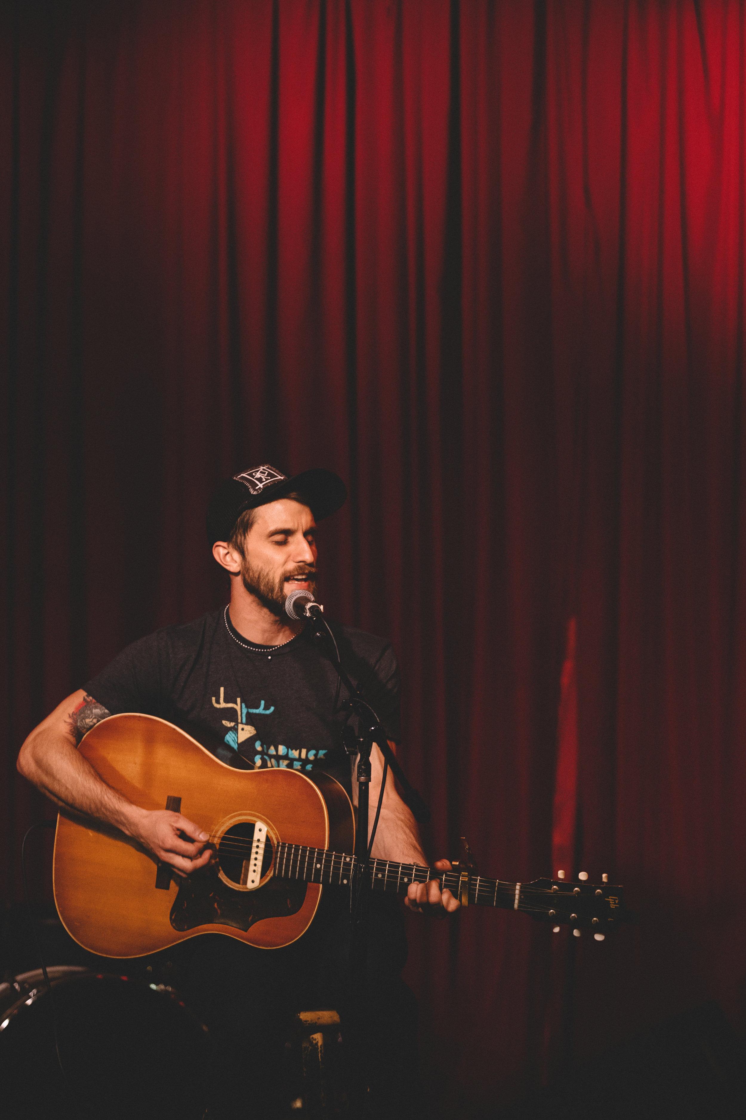 Ryan Harvey - Hotel Cafe - Firebrand Thursday