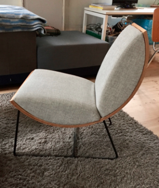 Ladybug Chair by Kristine Bjaadal. Photo, Kit Halvorsen.