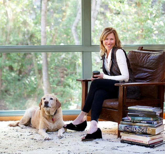Interior Designer Lisa Staprans.