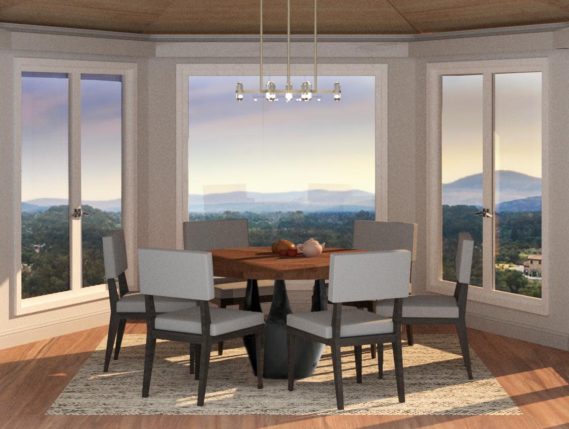 Tea Room Renders (design courtesy of Staprans Design)