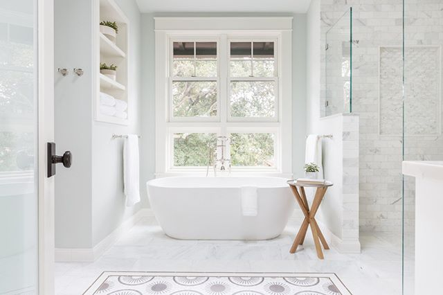 A peaceful bathroom in Piedmont by @lanemcnabinteriors --- • • • • • #interiors #interior #decor #homedecor #bayarea #sf #sanfrancisco #homedesign #designer #interiorstyling #furniture #interiordecor #decoration #alwayssf #oakland #nowrongwaysf #instadesign #interior123 #interiordesigner #mysanfrancisco #graphicdesign #interiorinspo #interior4all #streetsofsf #wildbayarea #norcal #igerssf #howsfseessf #creative #onlyinsf