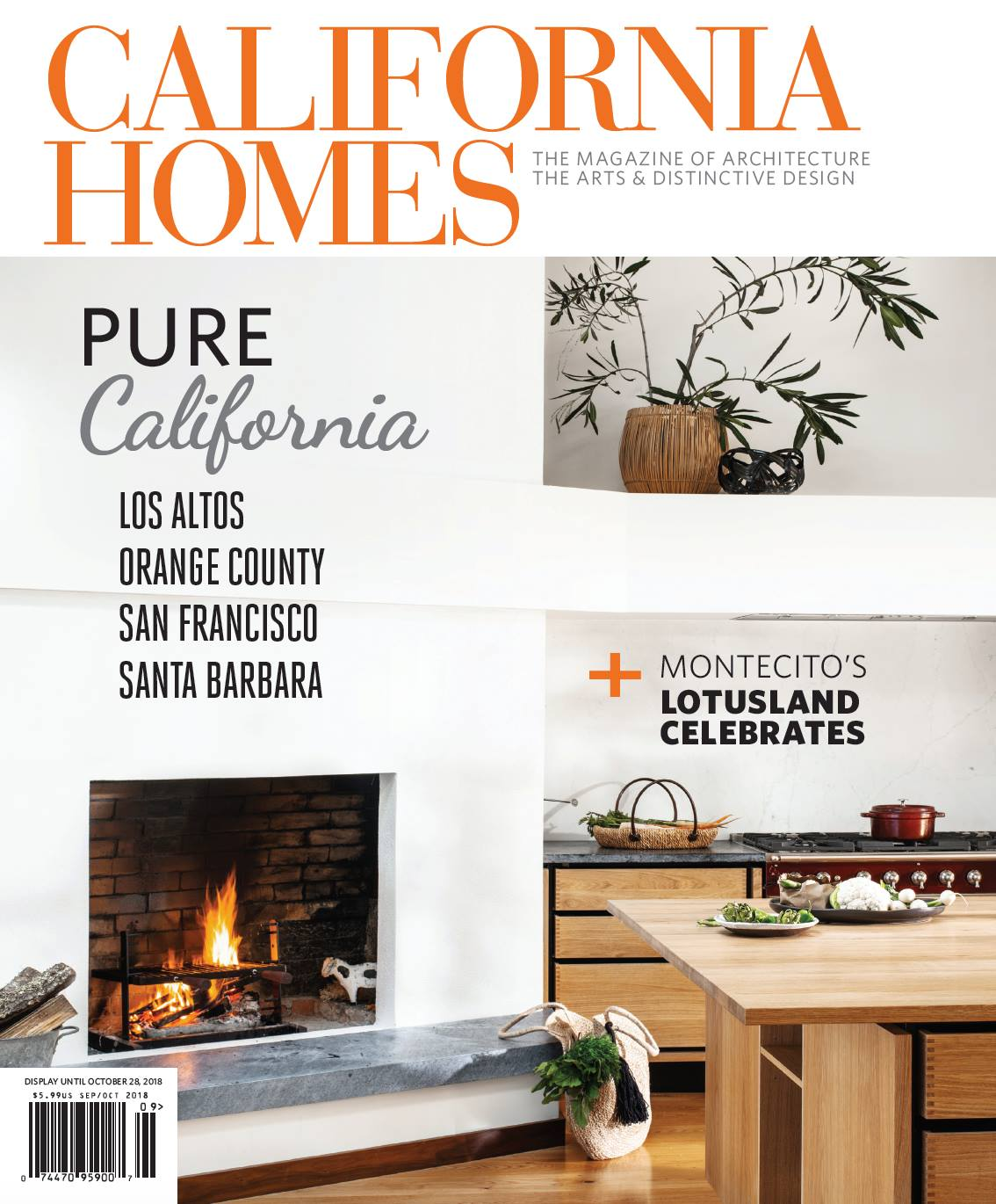 The cover of  California Homes