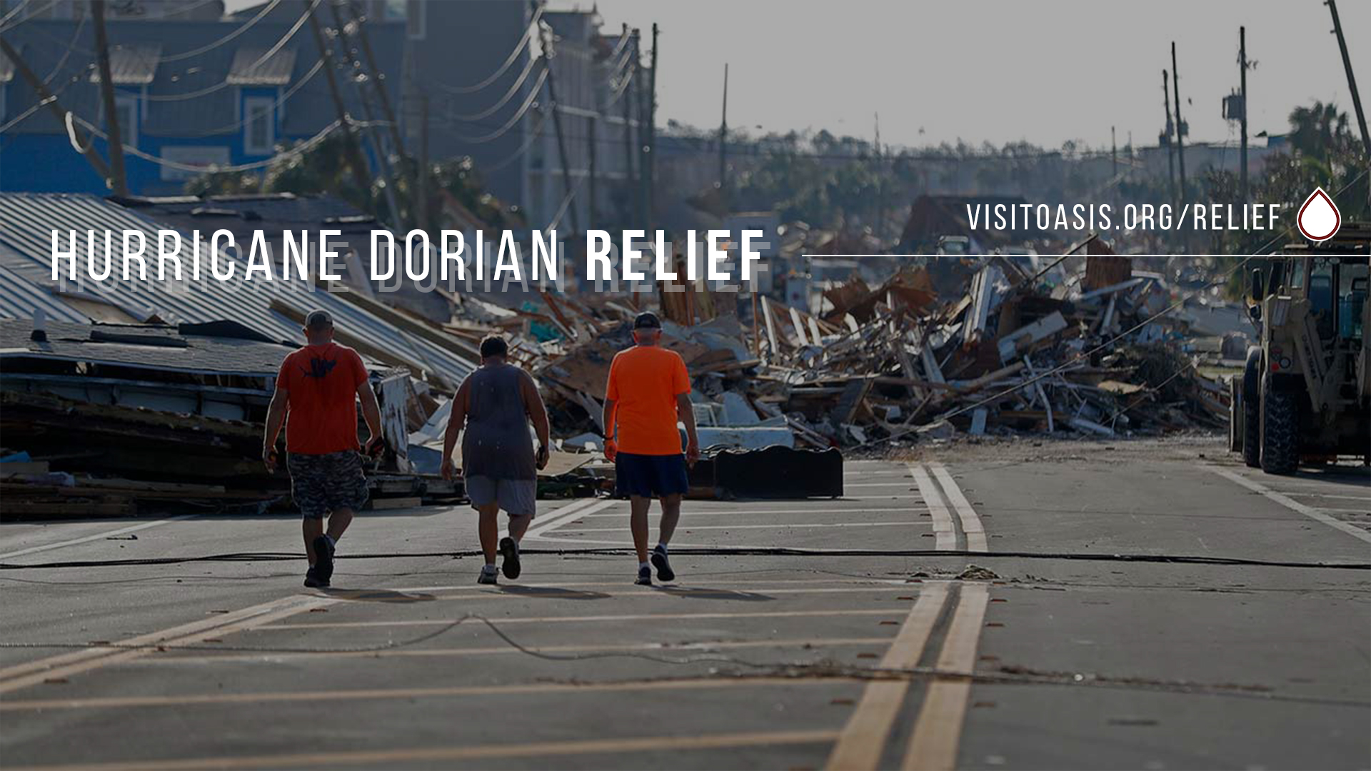 - As we continue to pray for those families devastated by hurricane dorian, we are gathering funds to send to our partners on the ground in the bahamas to begin the long journey of recovery. thank you for taking the opportunity to be the drop in this way.
