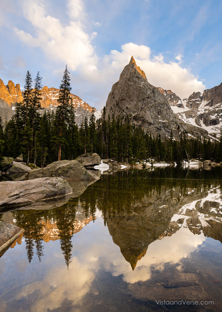 Lone Eagle Peak, Colorado.
